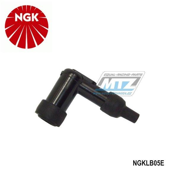 Fajfka/Botka NGK LB05E - 90° / 5 kOhm / pro svíčku s koncovkou