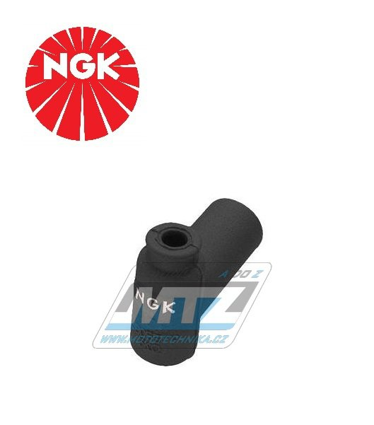 Fajfka/Botka NGK LB05EMH - 90° / 5 kOhm / pro svíčku s koncovkou - provedení silikonová - černá