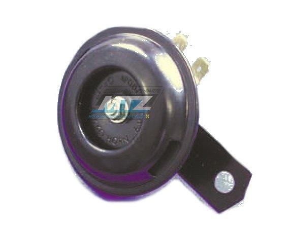 Húkačka/Klakson 12V - priemer 70mm - čierná