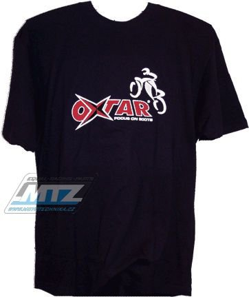 Tričko Oxtar černé
