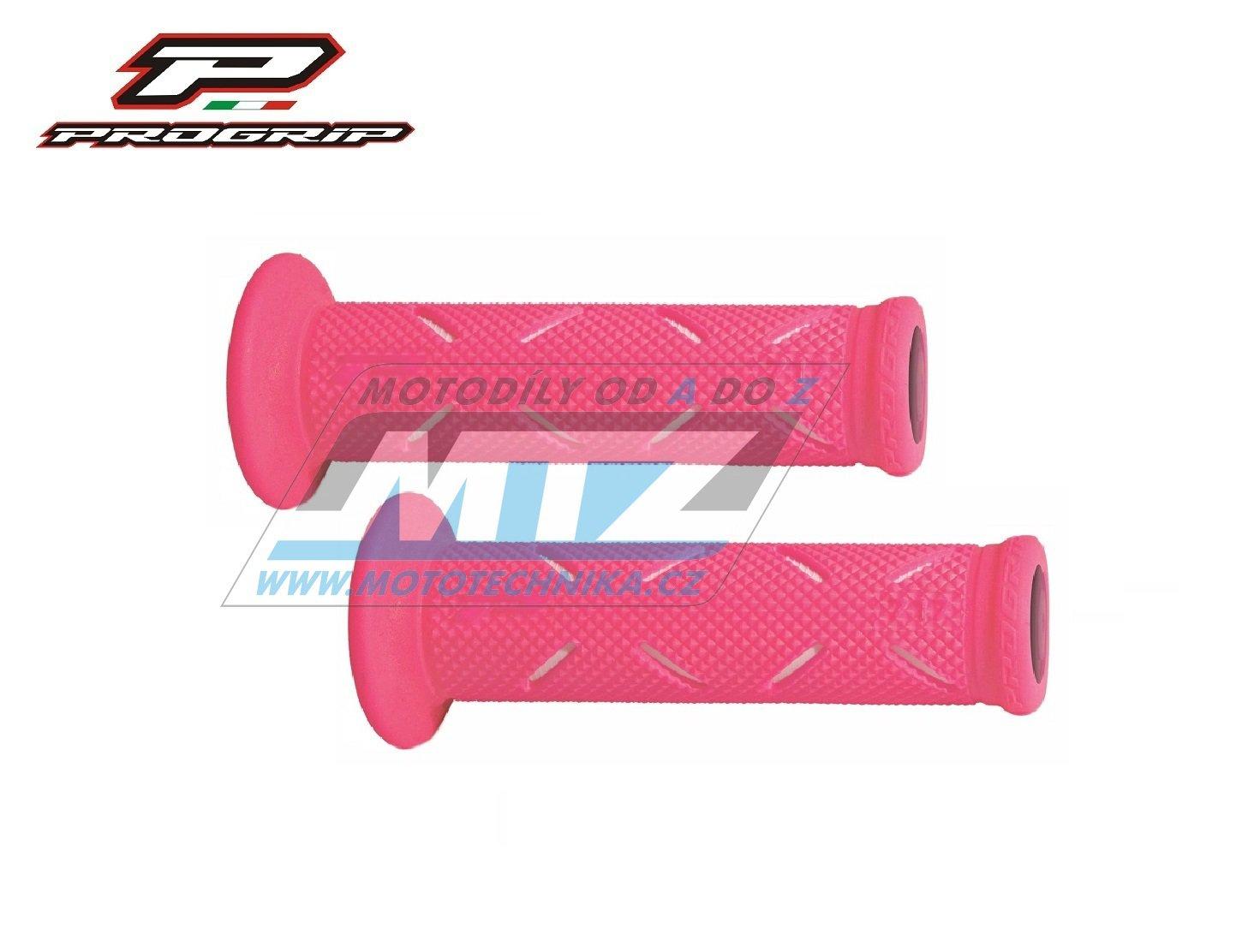 Rukojeti/Gripy Progrip 717 - FLUO růžové