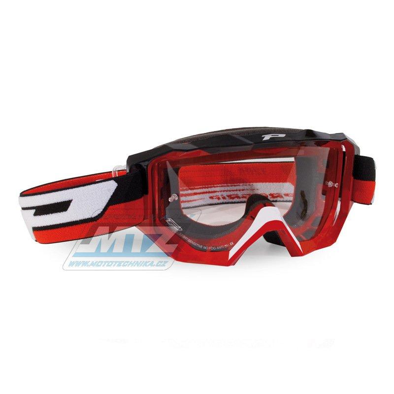 Brýle Progrip 3200 LS GOGGLES - červené