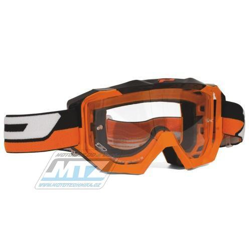 Brýle Progrip 3200 LS GOGGLES - oranžové
