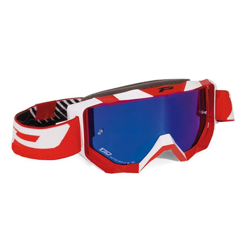 Brýle Progrip 3200FL MULTILAYERED - červeno/bílé