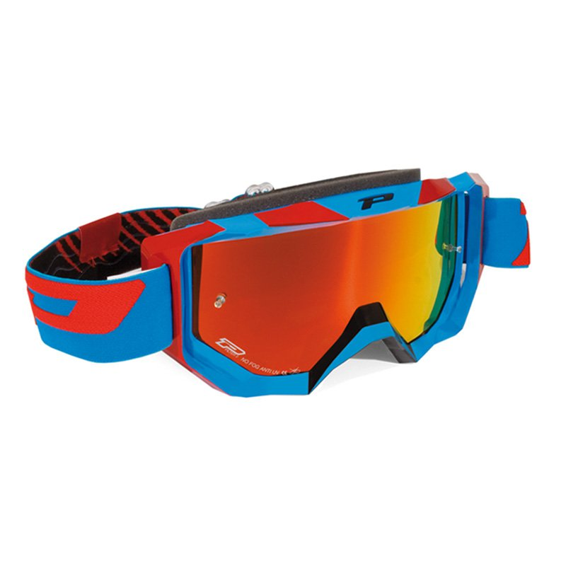 Brýle Progrip 3200FL MULTILAYERED - modro/červené