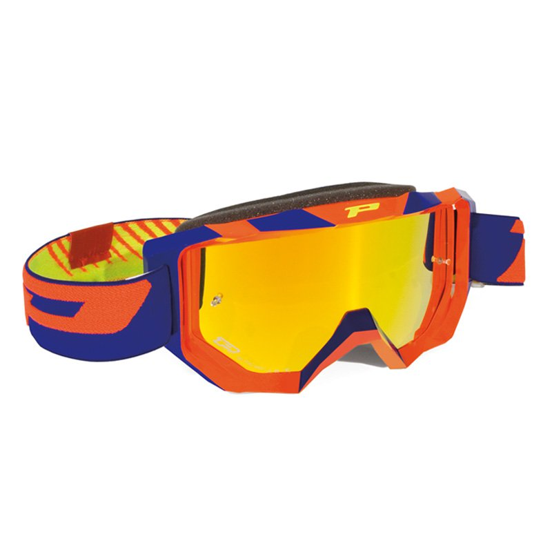 Brýle Progrip 3200FL MULTILAYERED - oranžovo/modré