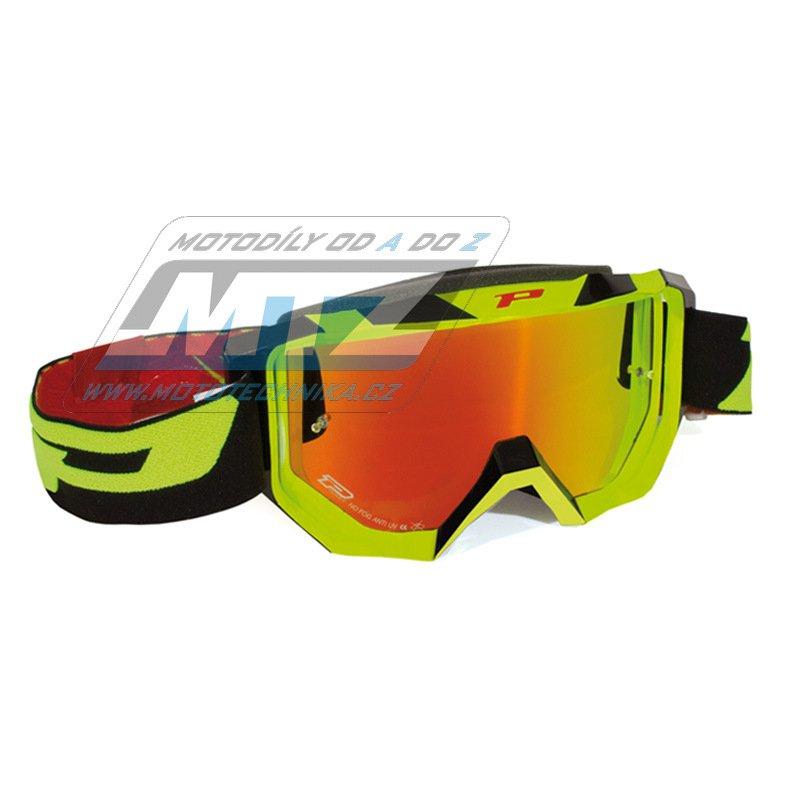 Brýle Progrip 3200FL - žluto/černé