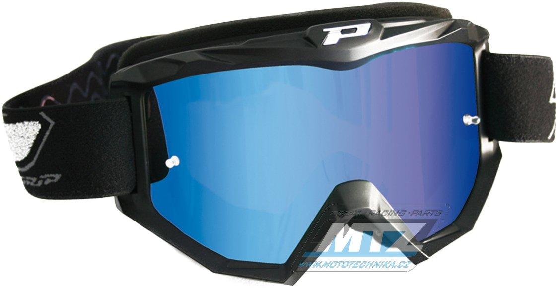 Brýle Progrip 3204 - zrcadlové modré