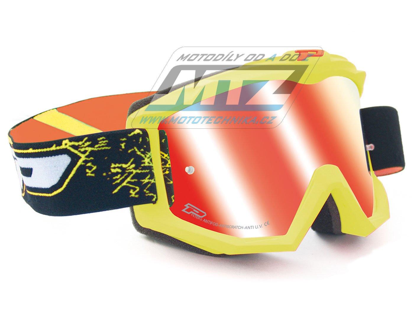 Brýle Progrip 3204-FLUO žluté