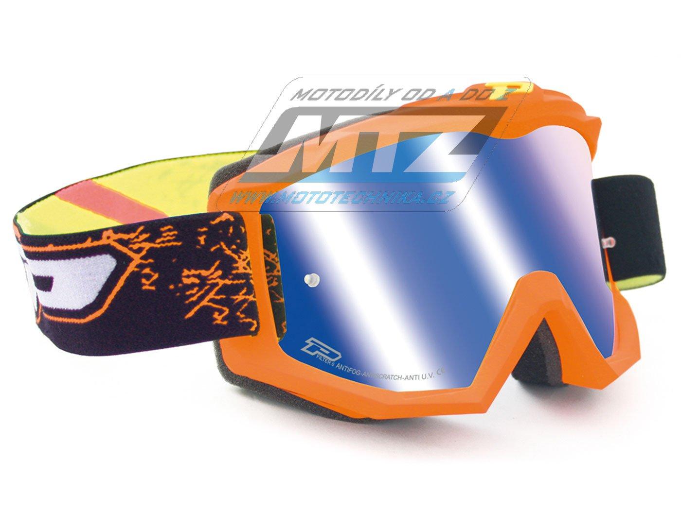 Brýle Progrip 3204-FLUO oranžové