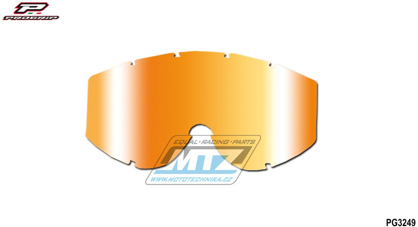 Sklo Progrip 3249-multicolor oranžové