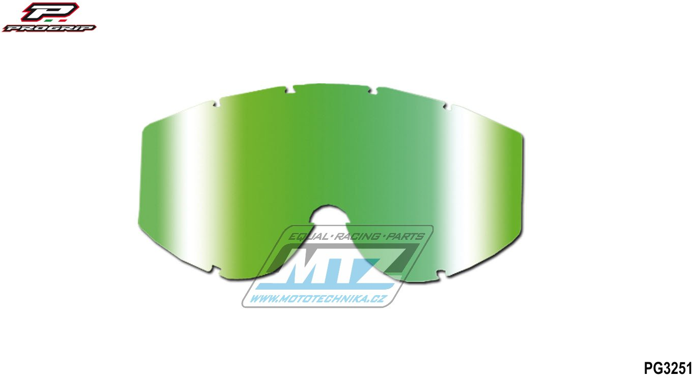Sklo Progrip 3251-multicolor zelené