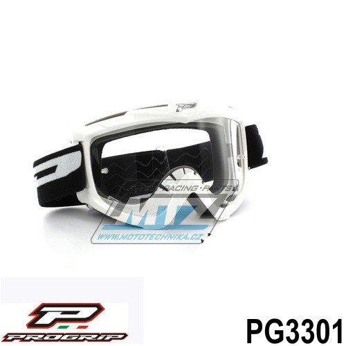 Brýle Progrip 3301 - bílé
