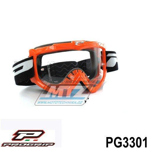 Brýle Progrip 3301 - oranžové