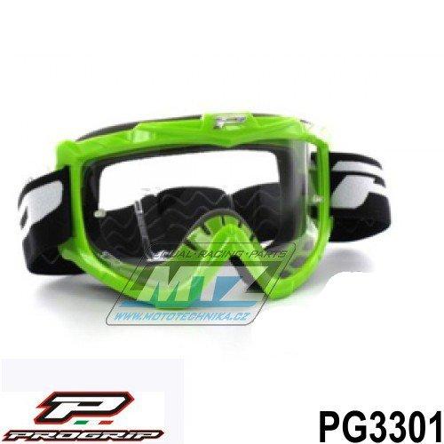 Brýle Progrip 3301 - zelené