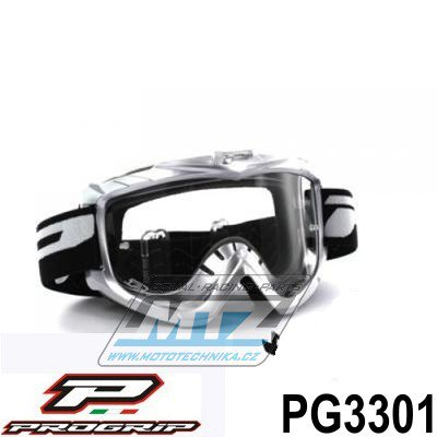 Brýle Progrip 3301 - stříbrné