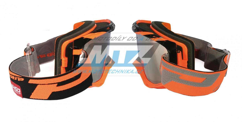 Brýle Progrip 3450 FL- Multilayered - oranžovo/černé