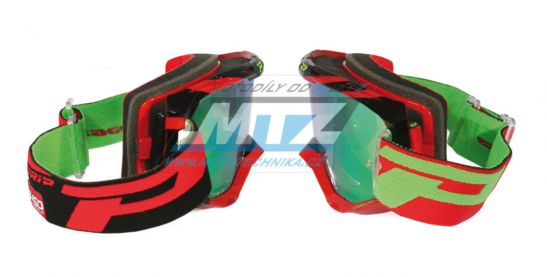 Brýle Progrip 3450 FL- Multilayered - červeno/černé