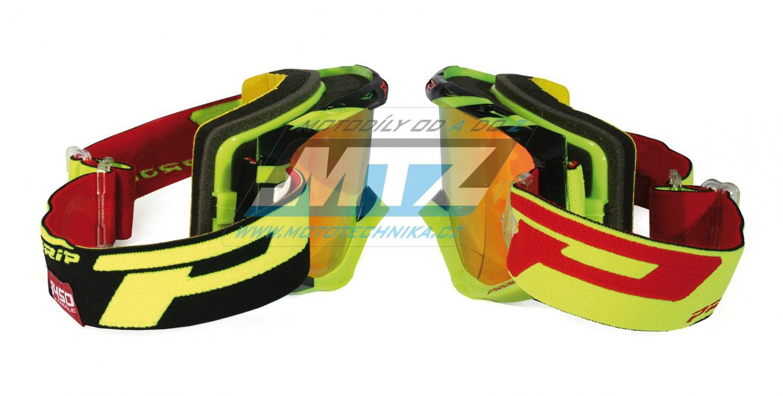 Brýle Progrip 3450 FL- Multilayered - žluto/černé