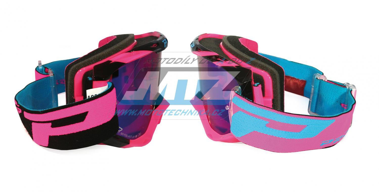 Brýle Progrip 3450 FL- Multilayered - růžovo/černé