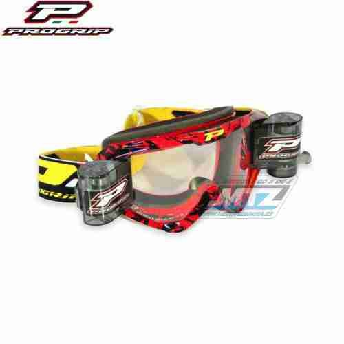 Brýle Progrip Roll-Off XL červené
