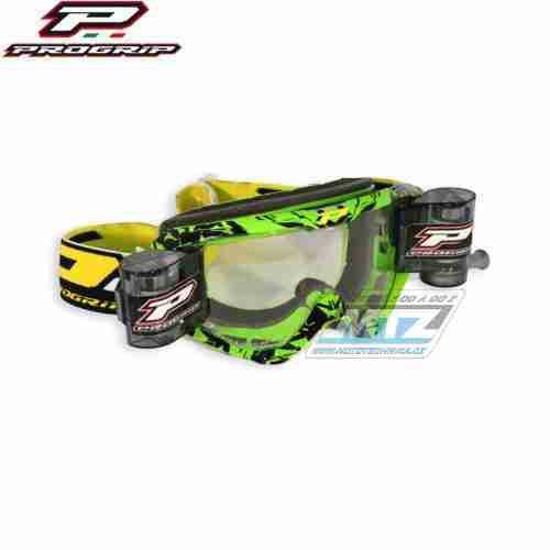 Brýle Progrip Roll-Off XL zelené