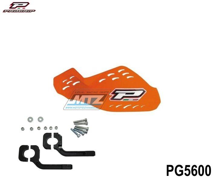 Kryty páček Progrip včetně montážního kitu - oranžové