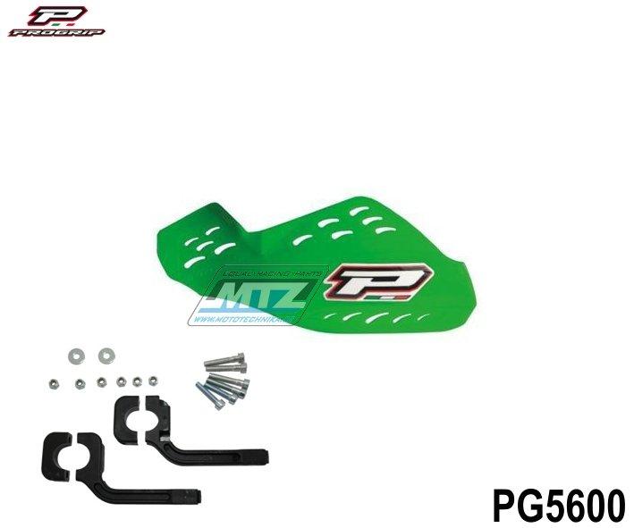 Kryty páček Progrip včetně montážního kitu - zelené