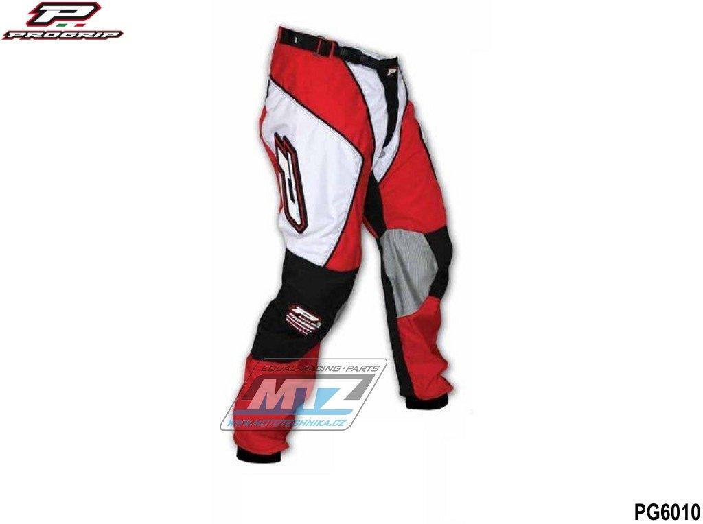 Nohavice jazdecké Progrip 6010/10 červené veľkosť 36