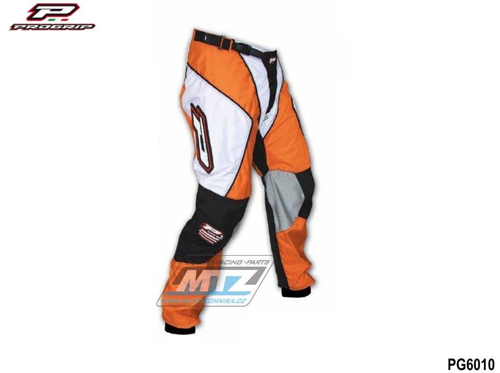 Nohavice jazdecké Progrip 6010/10 oranžovej veľkosť 38