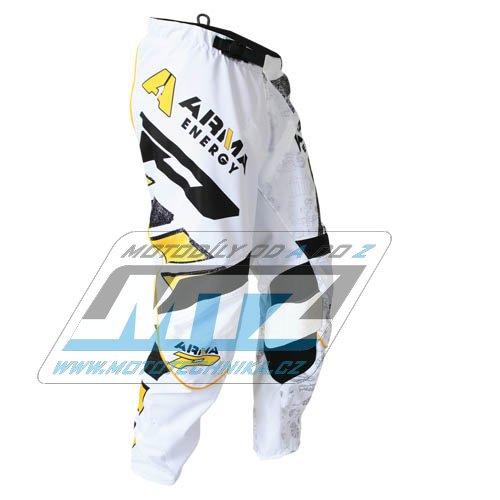 Nohavice jazdecké Progrip 6012 Arma biele veľkosť 38