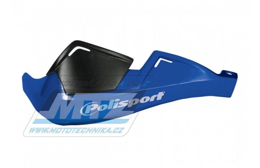 Bástry (kryty páček) Polisport EVOLUTION INTEGRAL včetně montážního kitu - modré