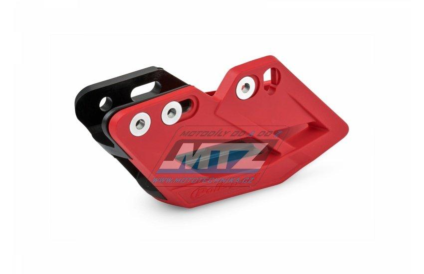 Vodítko reťaze kompletné Honda CRF250R+CRF450R / 07-18 - červené