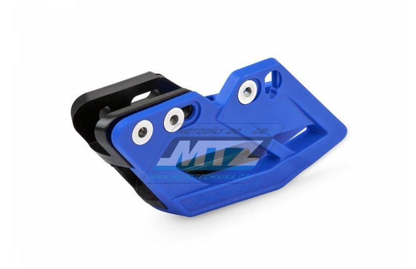 Vodítko řetězu kompletní Yamaha YZ125+YZ250 / 09-18 + YZF250+YZF450 / 09-18 + WRF250+WRF450 / 07-18 modré