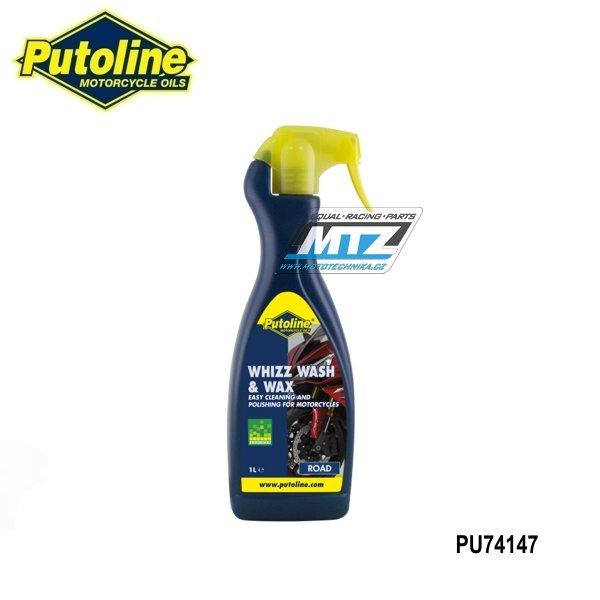 Přípravek na mytí motocyklu Whizz Wash & Wax (1 litr)