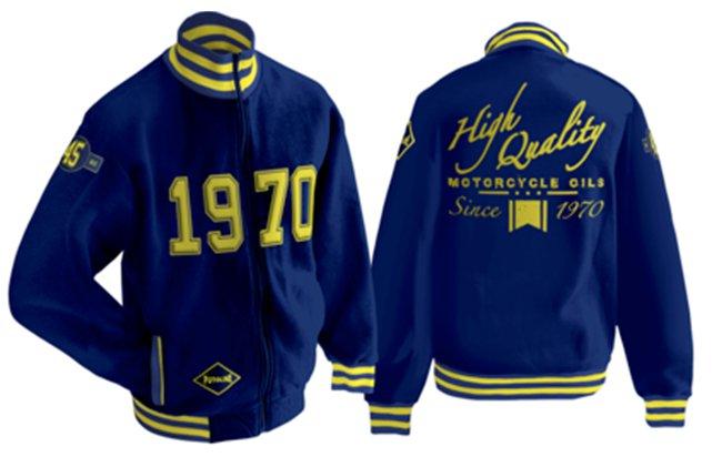 Mikina PUTOLINE 45Year Jacket Retro-Style - velikost XXL