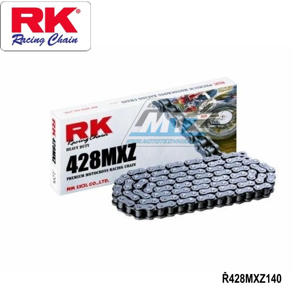 Řetěz RK 428 MXZ (140čl)