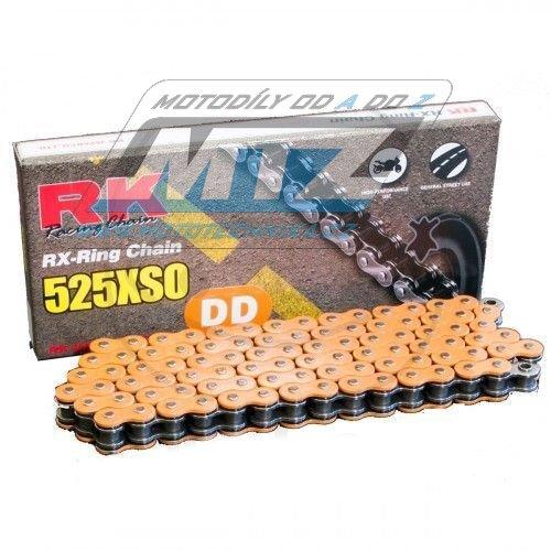 Řetěz RK 525 XSO (120čl) oranž