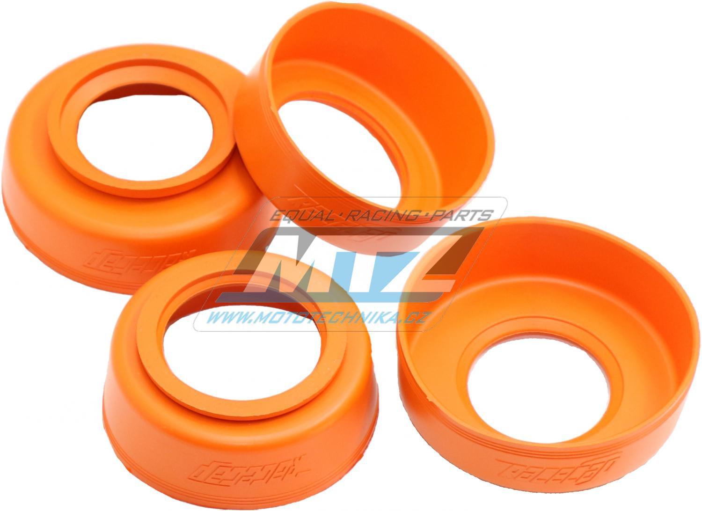 Sada prachovek RaceCap - KTM + Husaberg + Beta + Husqvarna - barva oranž