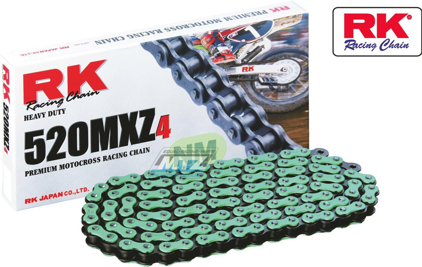 Řetěz RK 520 MXZ4 (118čl) zelený