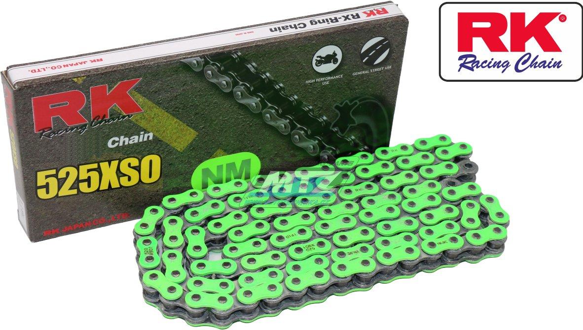 Řetěz RK 525 XSO (118čl) zelený