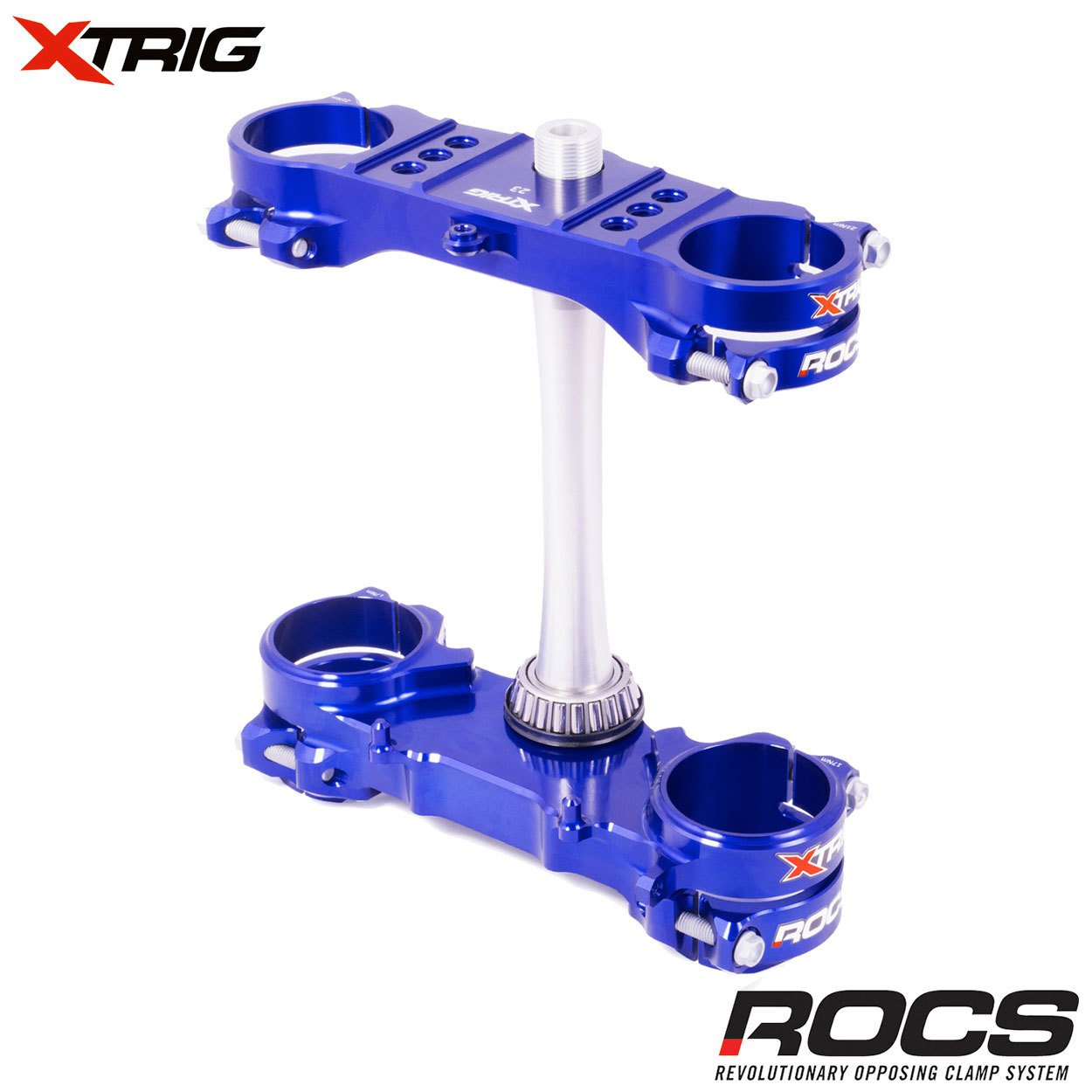 Brýle (Triple-Clamps) kompletní Xtrig ROCS tech Yamaha YZF250 / 12-18 + YZF450 / 10-15+18 (ofset 22)