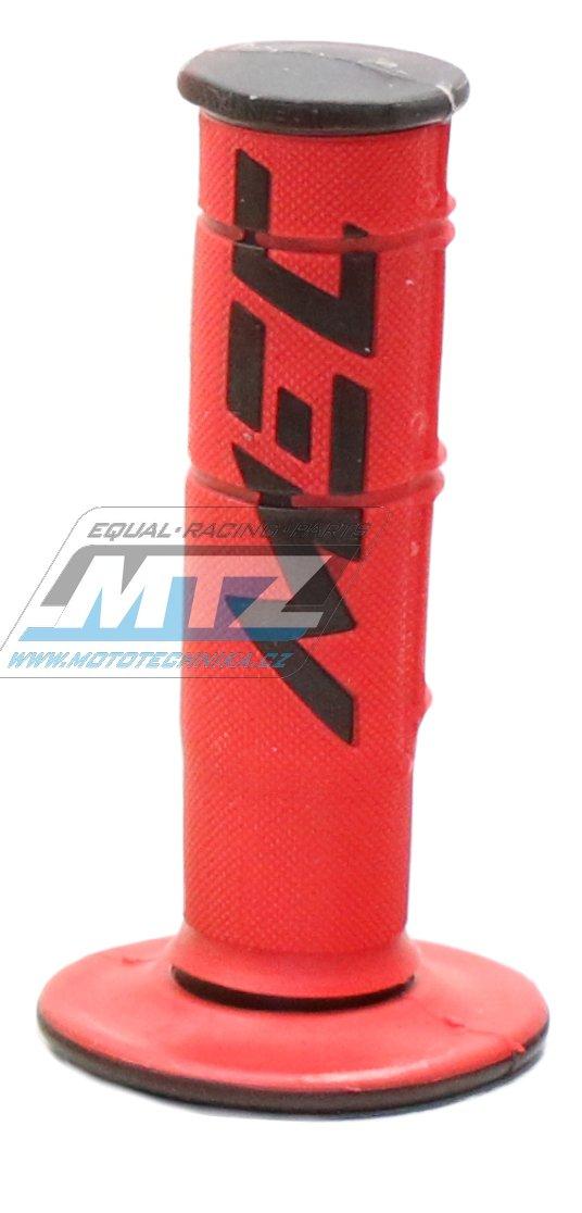 Rukojeti MEC Racetech Dual Compound Racing ExtraSoft černo-červené