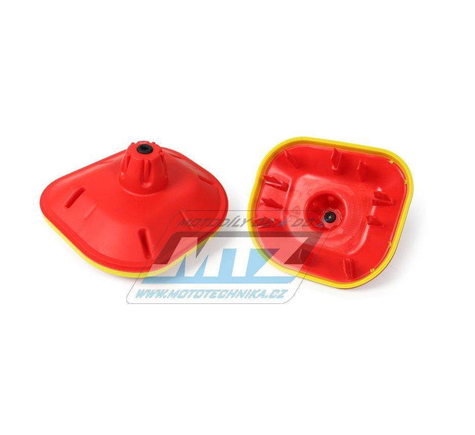 Kryt filtru (air-boxu) KTM 125+144+150+250SX / 98-15 + 125+200+250+300EXC / 98-16 + 250+350+450SXF / 03-15 + 250+350+400+450+500+530EXC / 00-16 + Husaberg TE125+TE250+TE300 / 11-14 + FE250+FE350+FE450 / 13-14 + Husqvarna