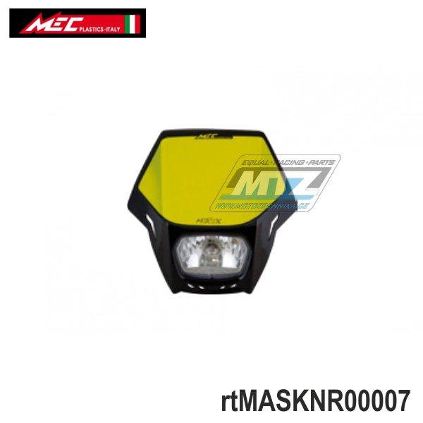 Maska přední se světlem Matrix - černá