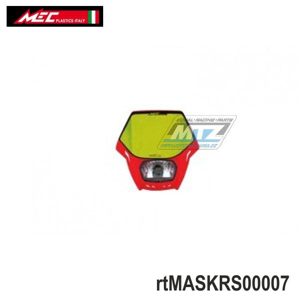 Maska přední se světlem Matrix - červená