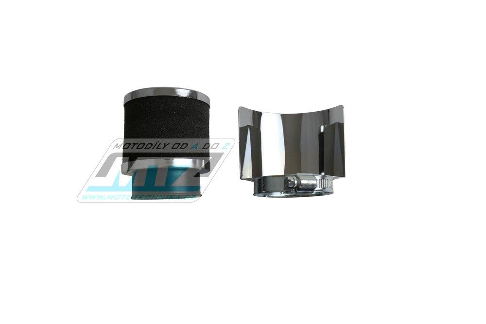 Filtr Pitbike s přírubou - průměr 35mm - přímý