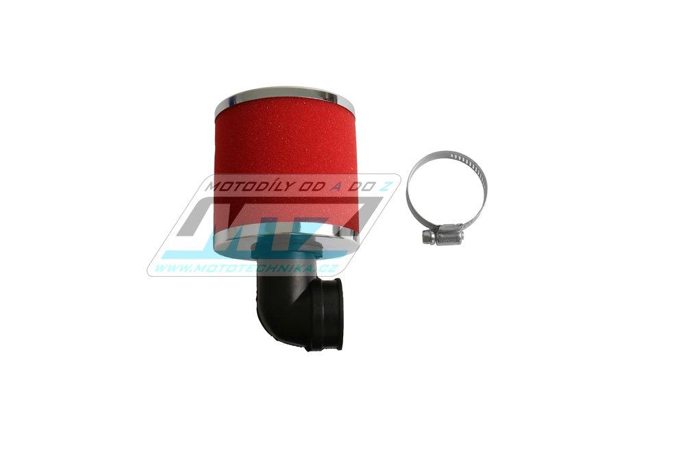 Filtr Pitbike s přírubou - průměr 35mm - úhel 90°