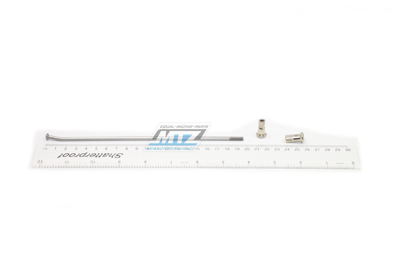 "Drát/Špice nerezové do kola + Niple 18"" - KTM SX85 / 12 + Freeride 250 / 14 + Freeride 350 / 12"