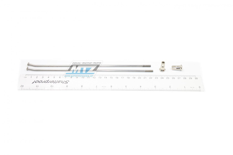 "Drát/Špice nerezové do kola + Niple 18"" - Honda XR400 / 96-04 + XR250+XR230 / 90-04 + XR600 / 91-00+ XR650 / 00-07 + XR650L / 93-12"